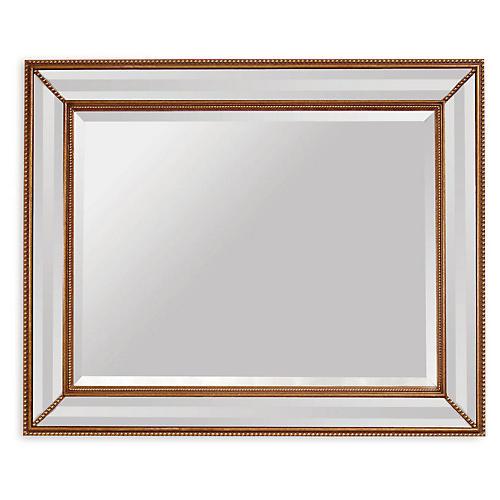 "Artemis 40""x50"" Oversize Mirror, Gold"