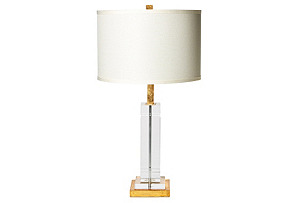 Avery Table Lamp, Crystal