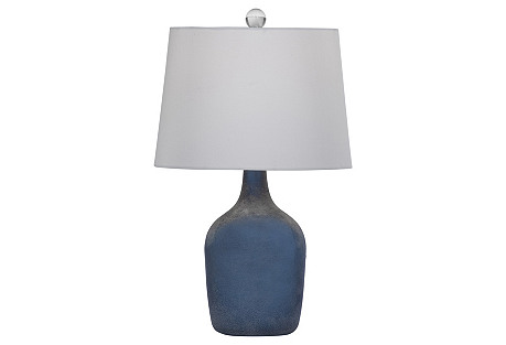 Maxine Table Lamp, Blue