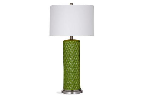 Sadler Table Lamp, Green