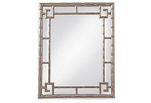 Cora Wall Mirror, Silver Leaf*