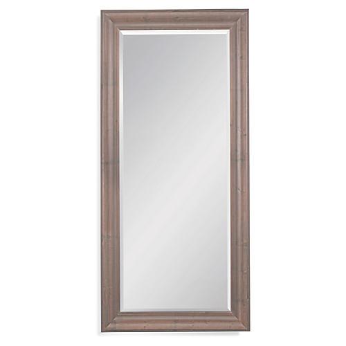 Hitchcock Floor Mirror, Brown