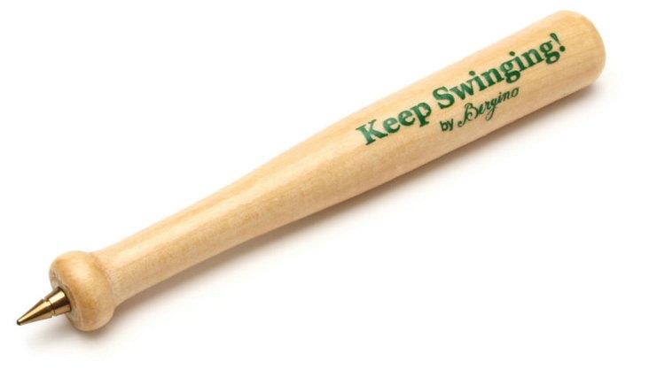 S/2 Keep Swinging Mini Bat Pens