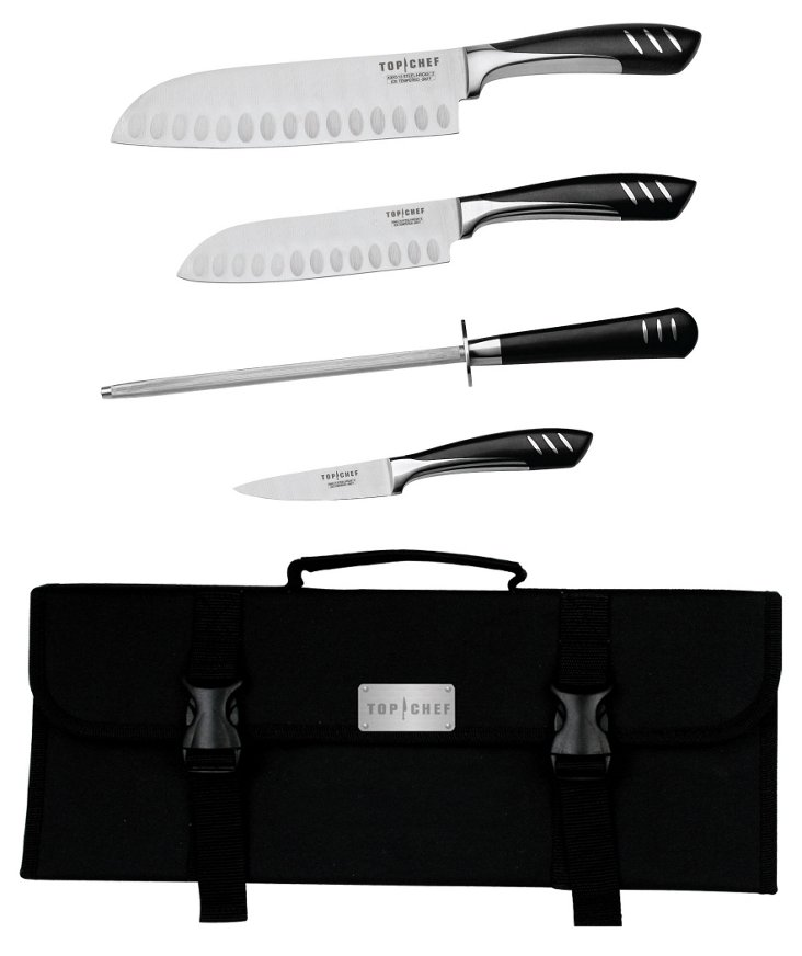 5-Pc Stainless Steel Knife Set