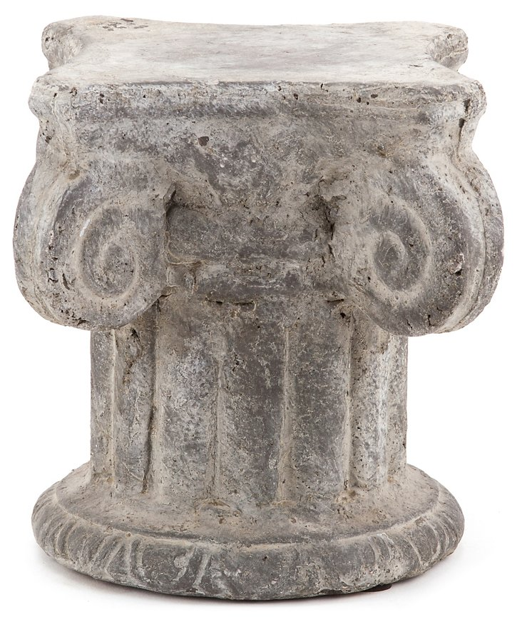 "6"" Greek Column, Antique White"