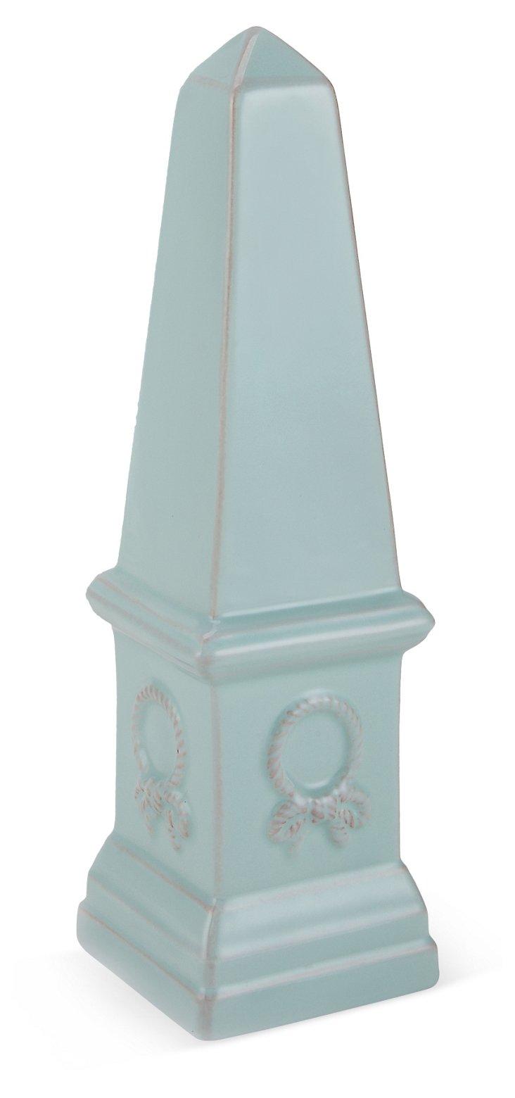 """13"""" Ceramic Grand Obelisk"""