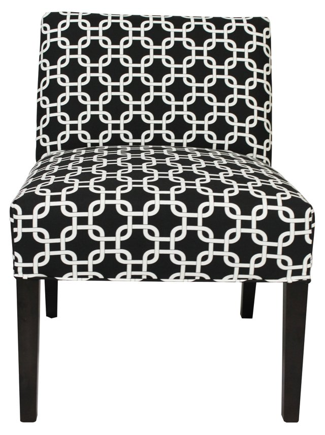 Bea Accent Chair, Black