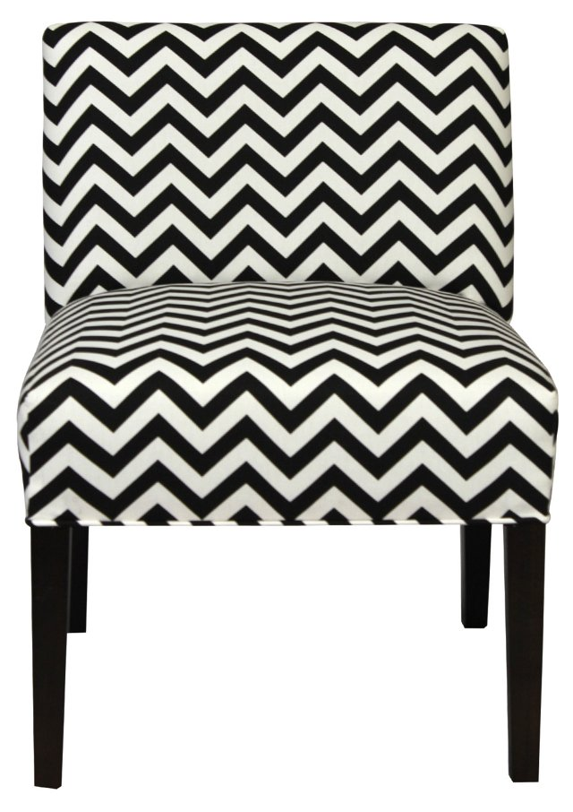 Cooke Accent Chair, Black