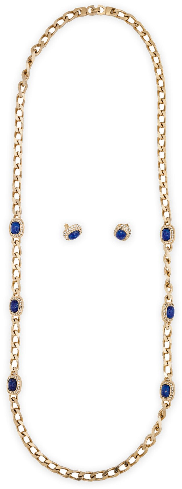 Christian Dior Necklace & Earrings Set