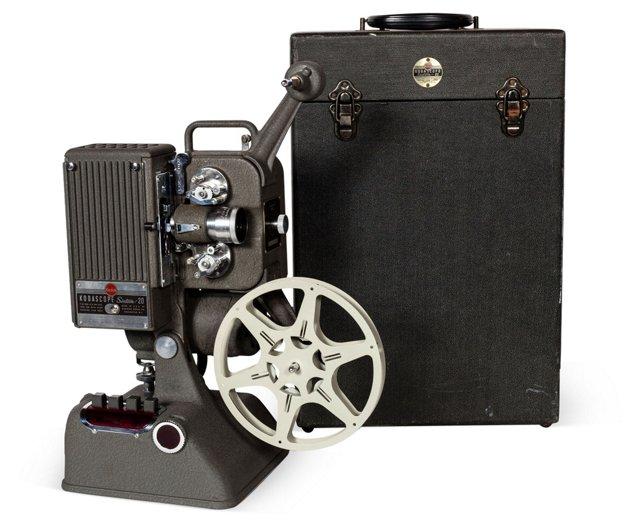 C. 1940 Kodak Kodascope Movie Projector