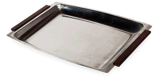 Danish Stainless Serving Tray