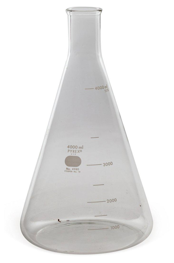 Large Pyrex Flask