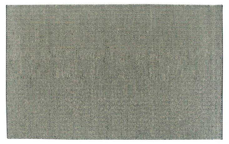 Mariam Flat-Weave Rug, Black