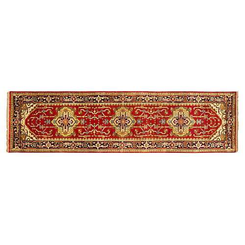 3'x9' Serapi Heritage Rug, Dark Copper