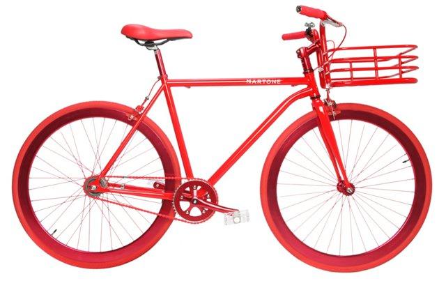 Men's Large Gramercy Bike, Red