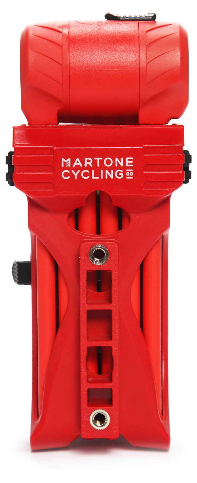 Folding Bike Lock, Red