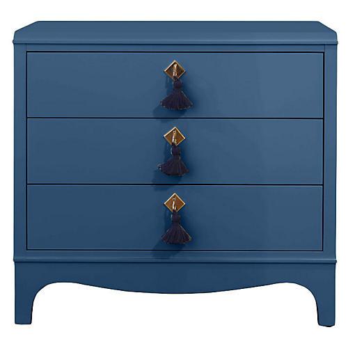 Easton Nightstand, New York Blue
