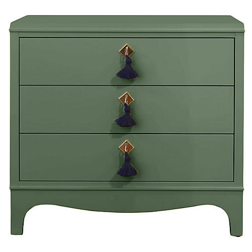 Easton Nightstand, Peale Green