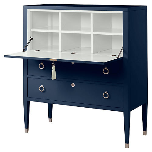 Easton Secretary, Navy/White