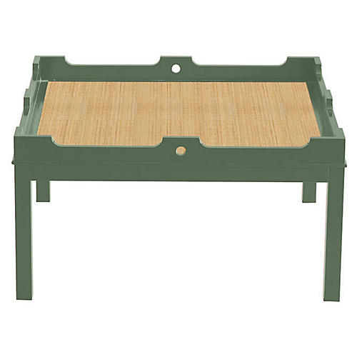 Fairfield Coffee Table, Peale Green