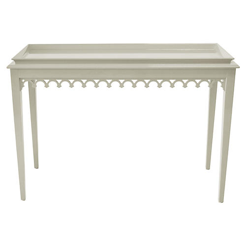 Newport Console, Fawn Brindle
