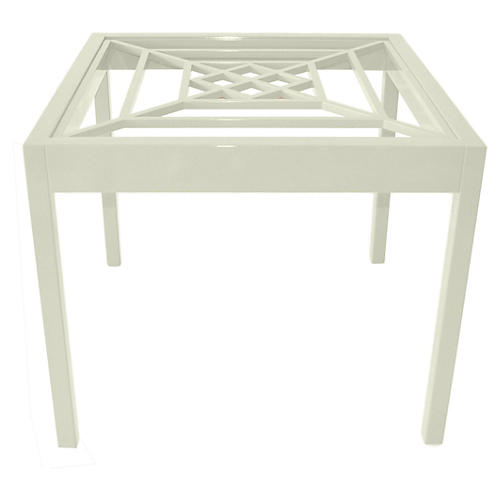 Southport Game Table, Cream