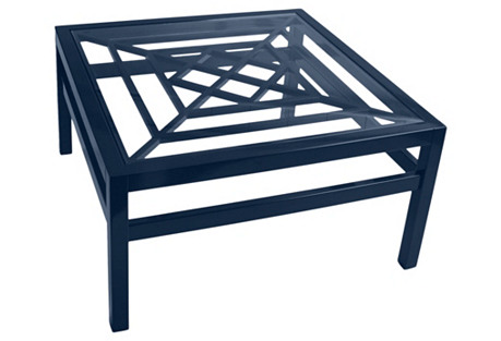 Soutport Coffee Table, Navy