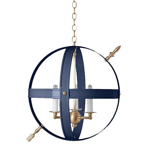 Cambridge III Pendant, Navy