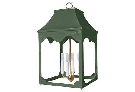Hobe Sound Lantern, Sage