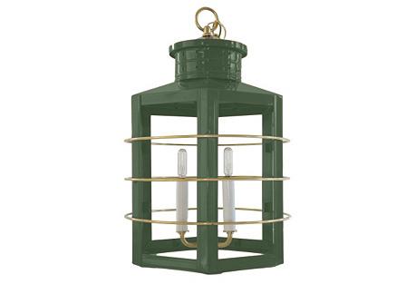 Nantucket Lantern, Sage