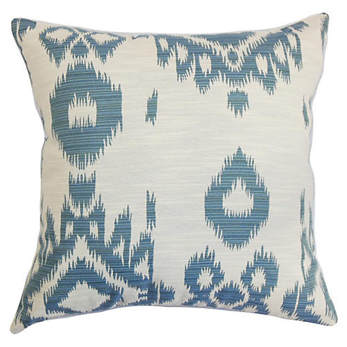 Gaera 18x18 Pillow, Denim