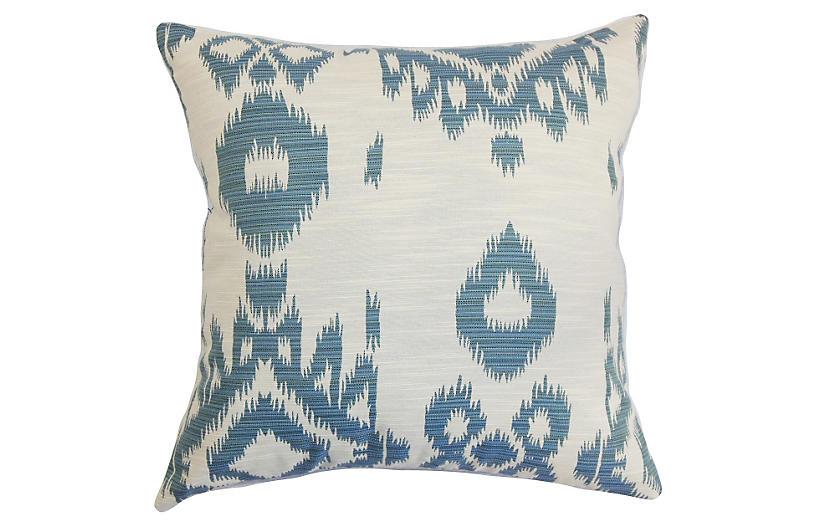 Gaera 18x18 Pillow, Denim