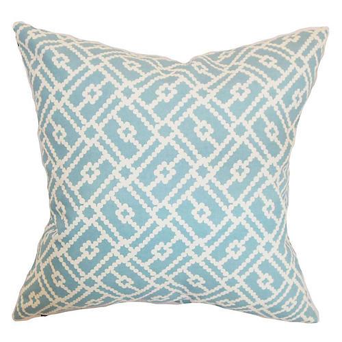 Majkin 18x18 Pillow, Turquoise