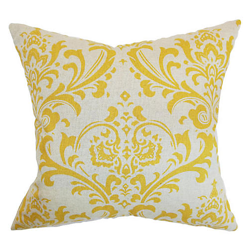 Olavarria Pillow, Yellow