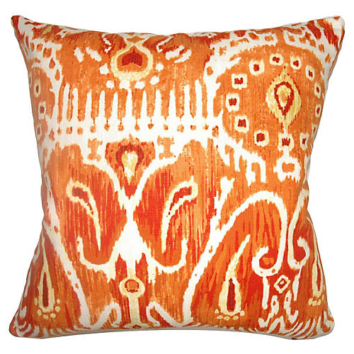 Haestaingas 18x18 Pillow, Pumpkin