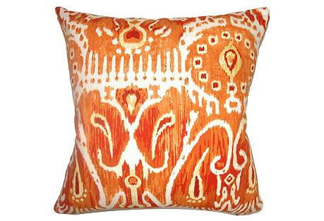 Haestaingas 18x18 Pillow, Pumpkin