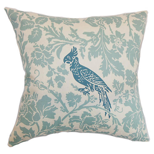 Gayndah 18x18 Pillow, Blue
