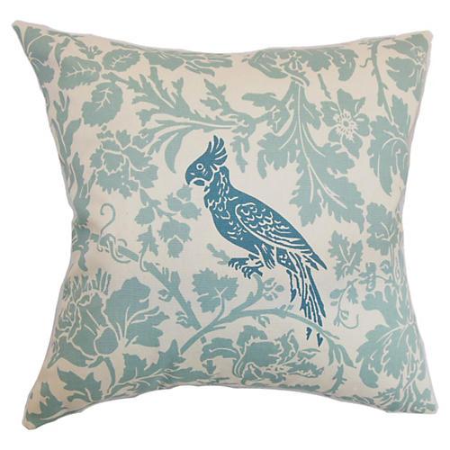 Gayndah 18x18 Pillow, Blue