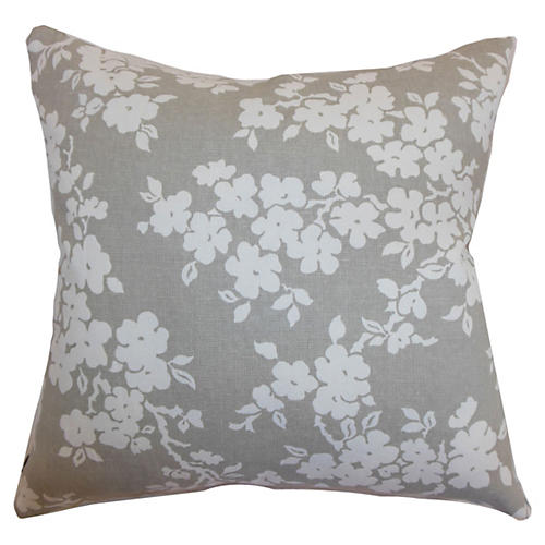 Floral Pillow, Smoke