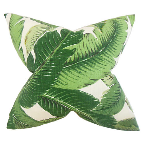 Palm Pillow, Green