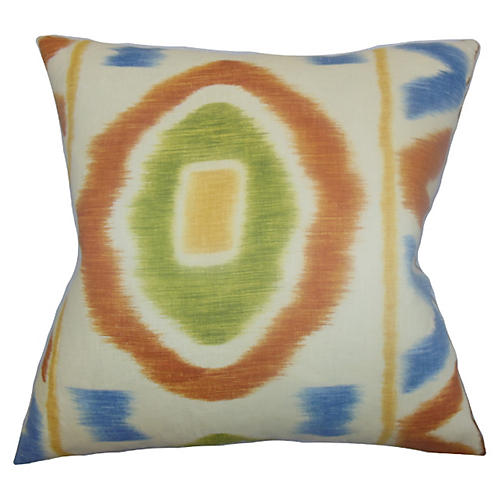 Ikat 18x22 Pillow, Orange