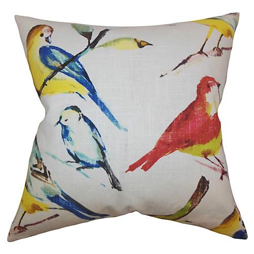 Bara 18x18 Animal Print Pillow
