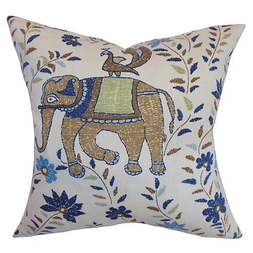 Carna Pillow, Blue