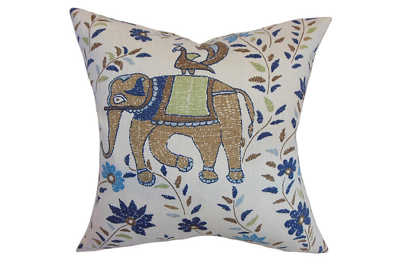 Carna Pillow - Blue - 24x24