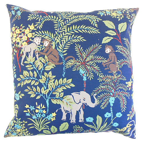 Fiametta Pillow, Blue