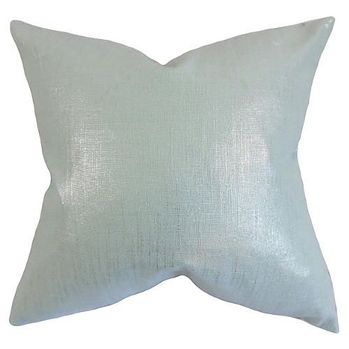 Glitz 18x18 Pillow, Teal