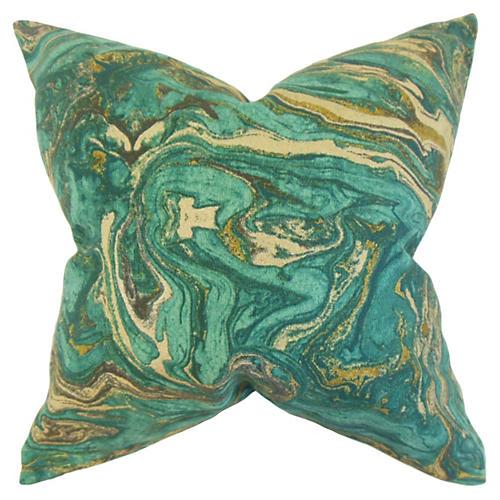 Ceylon Pillow, Green