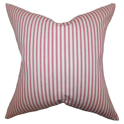 Loriana 18x18 Pillow, Red