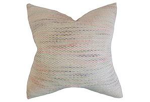 Talia 18x18 Pillow, Bubble Gum*
