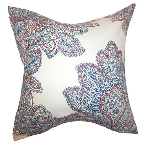 Maris 18x18 Pillow, Blue
